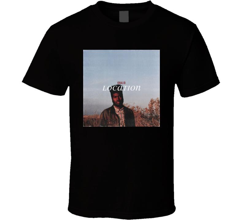Location Khalid t shirt