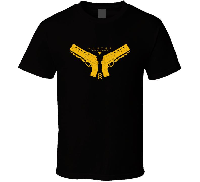 Hunter games xbox Destiny Hunter Gunslinger T Shirt