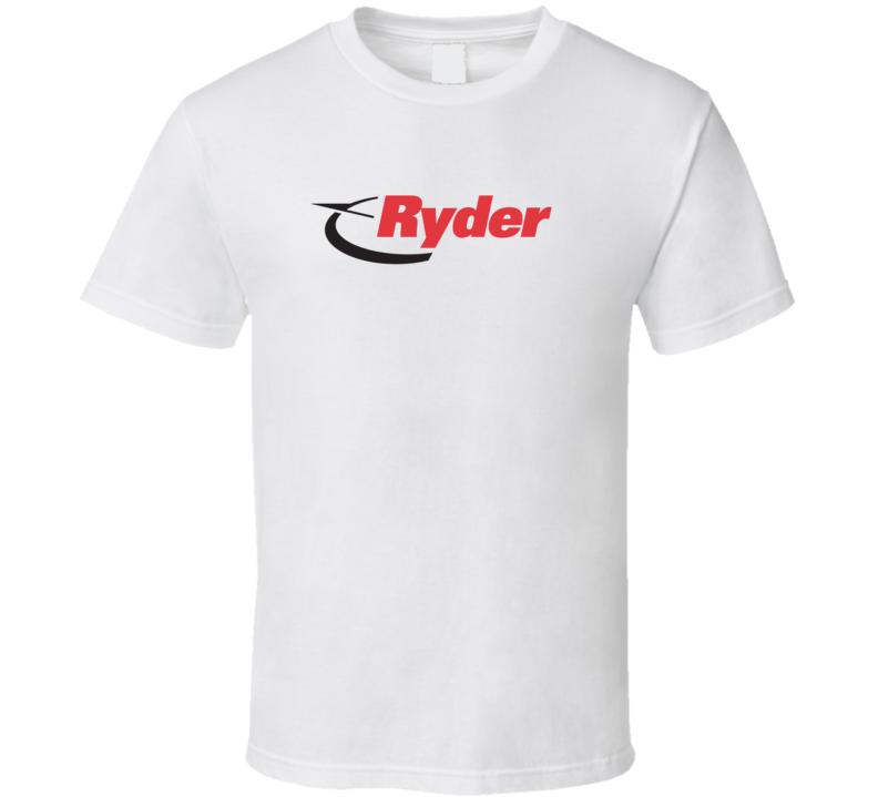 Ryder Truck Logo T Shirt