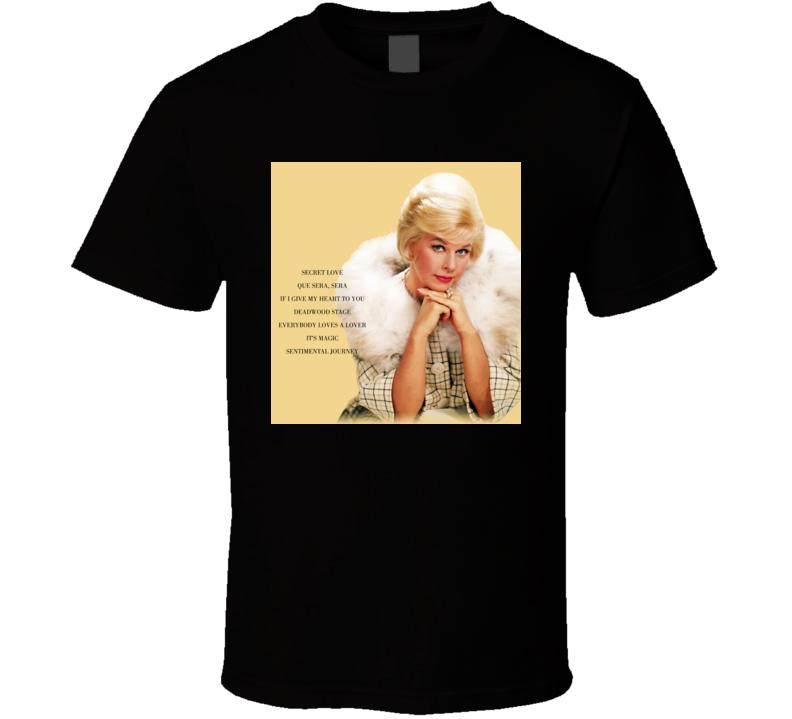 Doris Day Secret Love t shirt