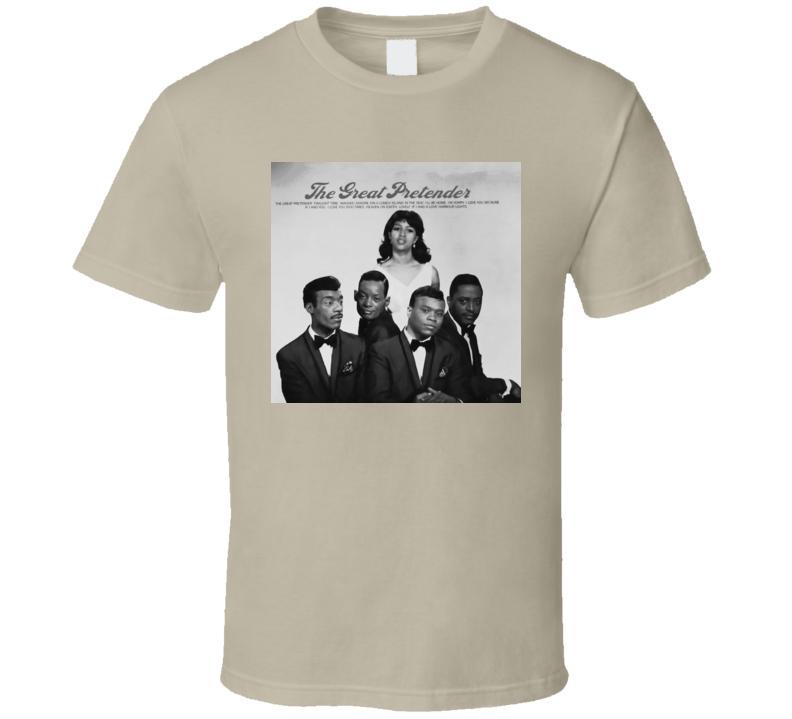 Platters The Great Pretender t shirt