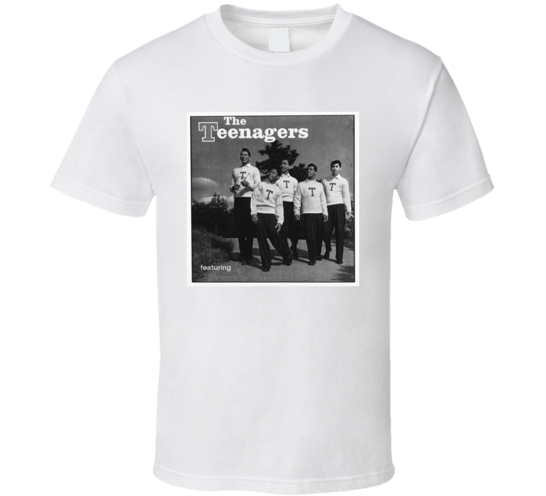 Frankie Lymon and The Teenagers Why Do Fools Fall In Love t shirt