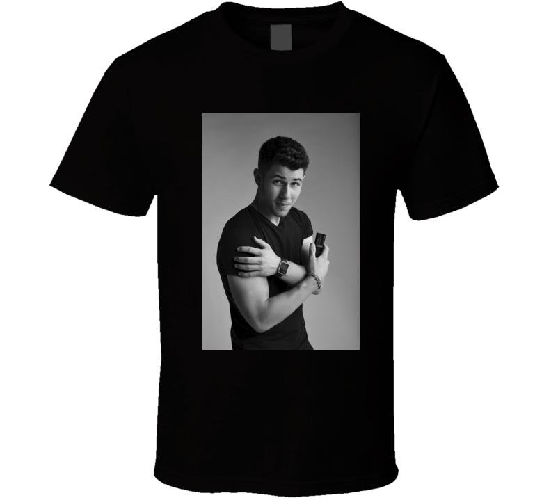 Nick Jonas Chains t shirt