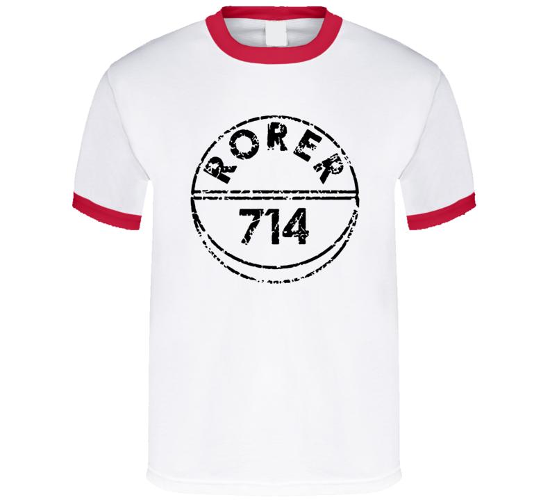 rorer 714 t shirt