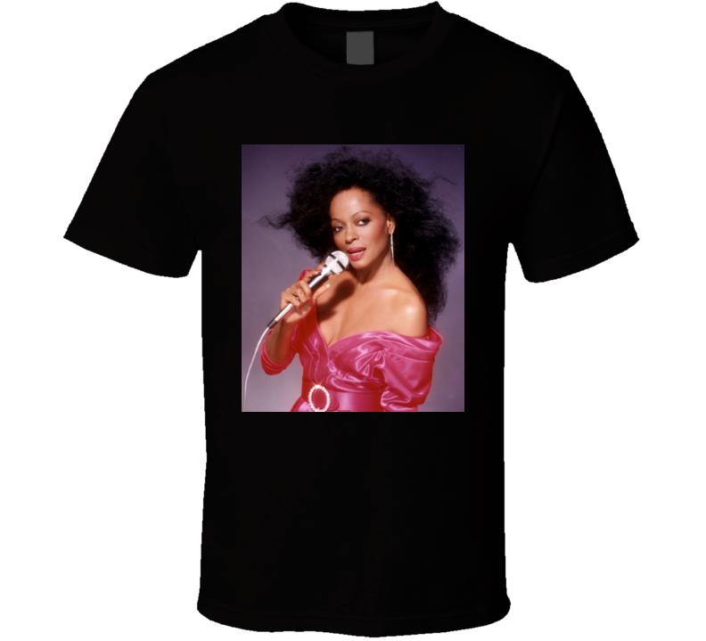 Diana Ross Ain't No Mountain High Enough t shirt