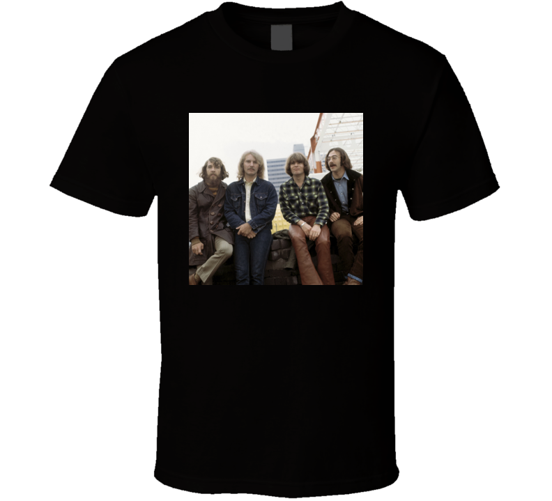 Creedence Clearwater Revival Lookin' Out My Back Door Long As I Can See The Light t shirt
