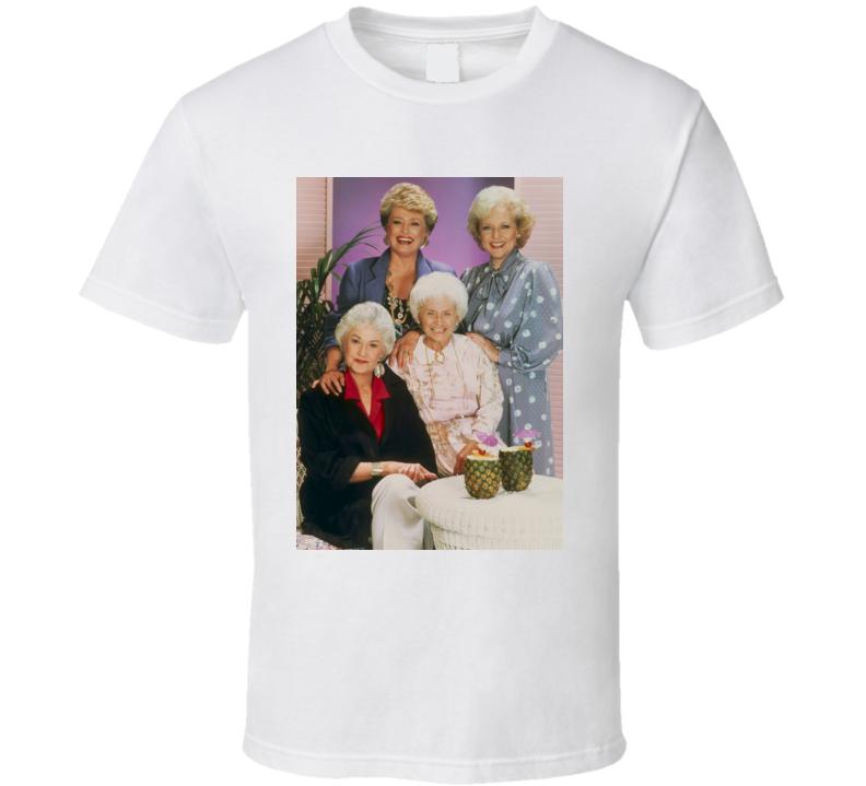 Golden Girls Cast Retro Tv Show t shirt