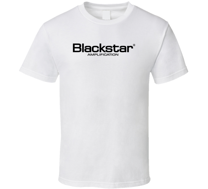 blackstar amp guitar amplifier t shirt