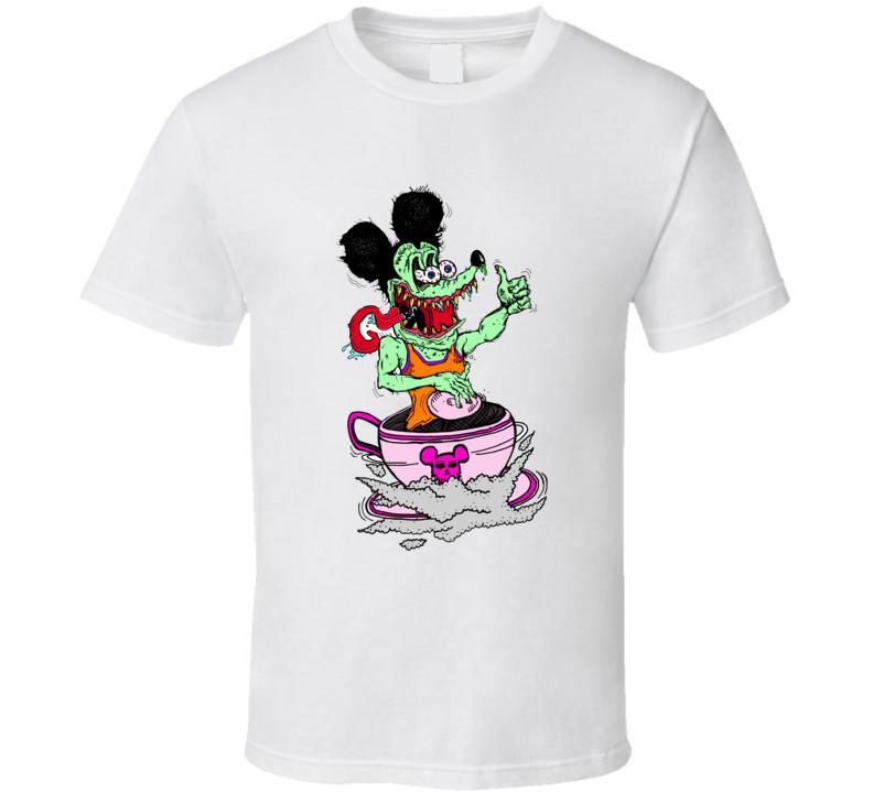 mickey ratfink rat fink funny t shirt