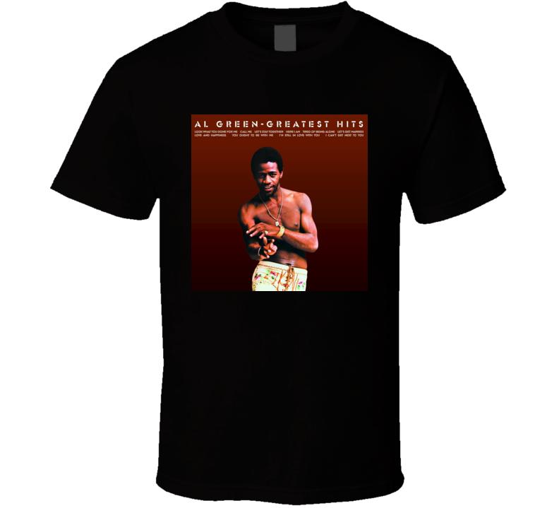 Al Green Greatest Hits T Shirt