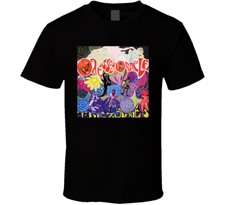 The Zombies Odessey And Oracle T Shirt