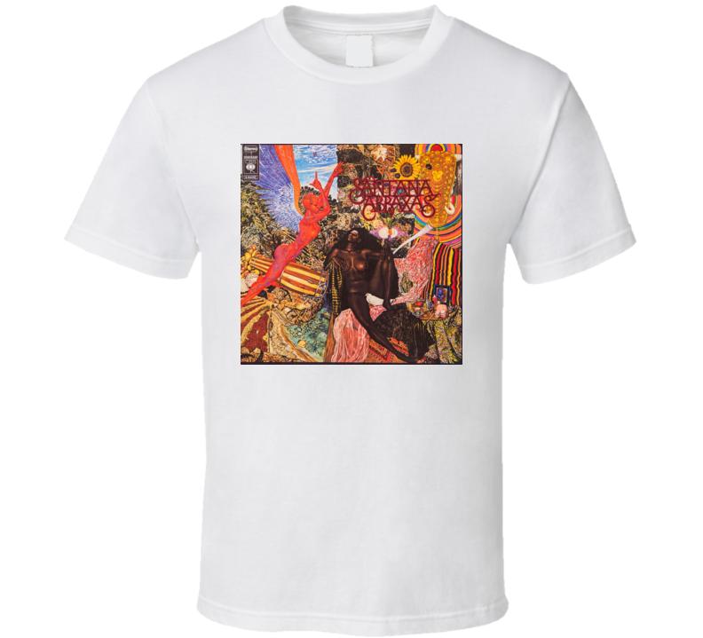 Santana Abraxas T Shirt