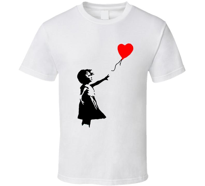 Banksy Baloon Girl T Shirt
