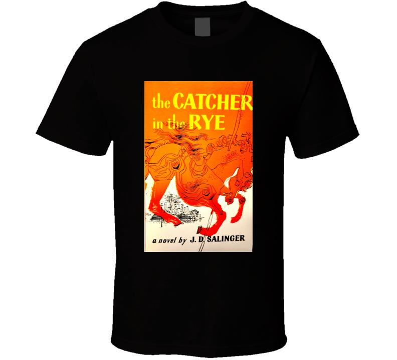 Catcher In The Ryer Novel Cover T-shirt