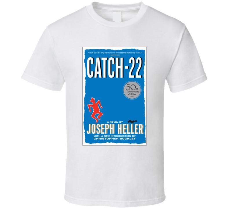 Catch 22 Joseph Heller Novel Cover T-shirt