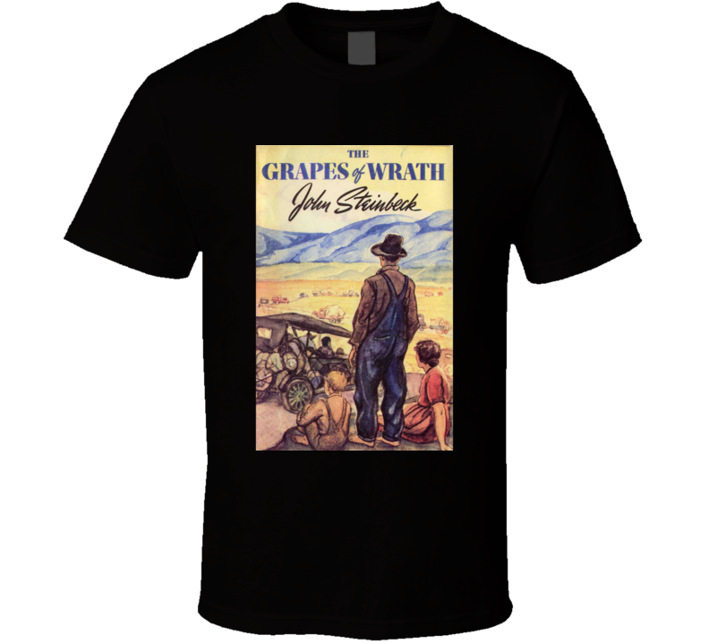 Grapes Of Wrath Novel Tshirt Steinbeck