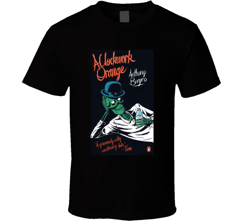 A Clockwork Orange Novel Black T Shirt