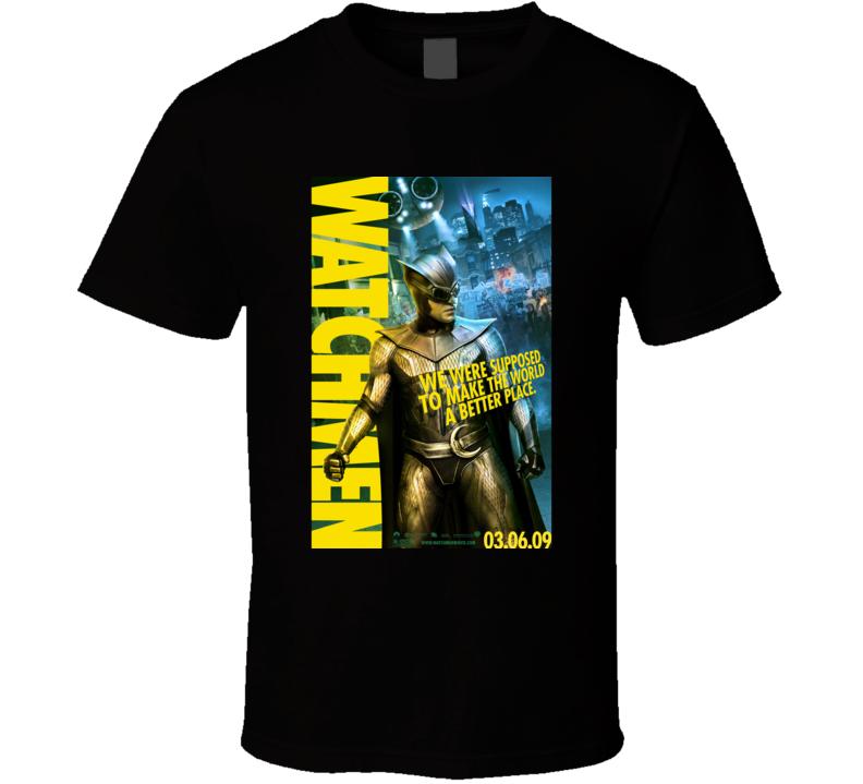 Watchmen Novel Cover T-shirt