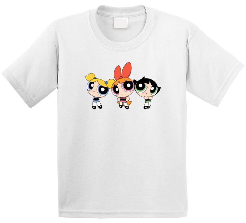 The Powerpuff Girls Kids T-shirt Tee