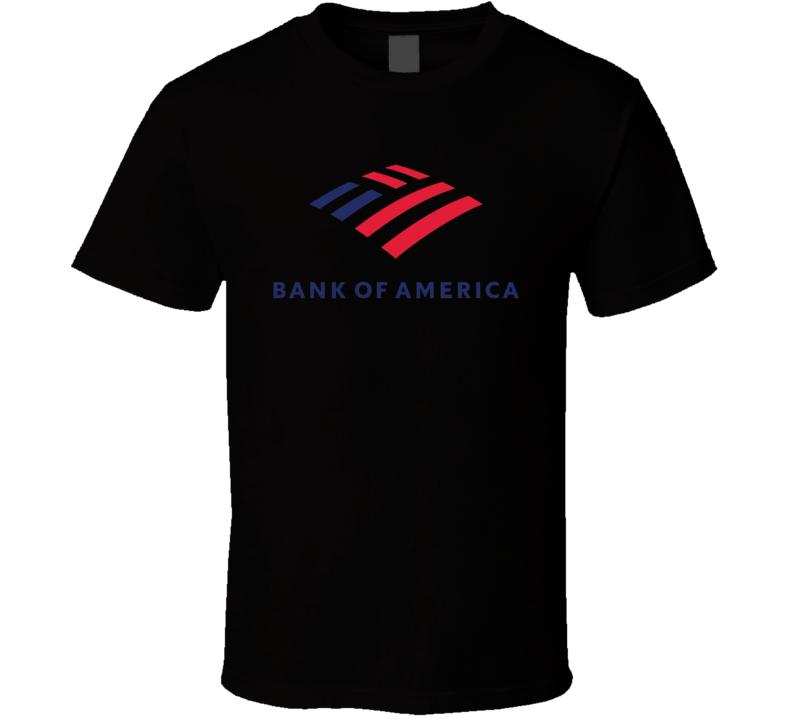Bank Of America Logo T Shirt