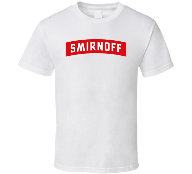 Smirnoff Logo T Shirt