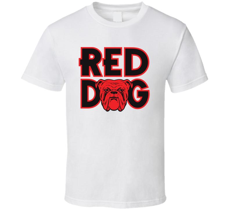 Red Dog Beer Logo T Shirt