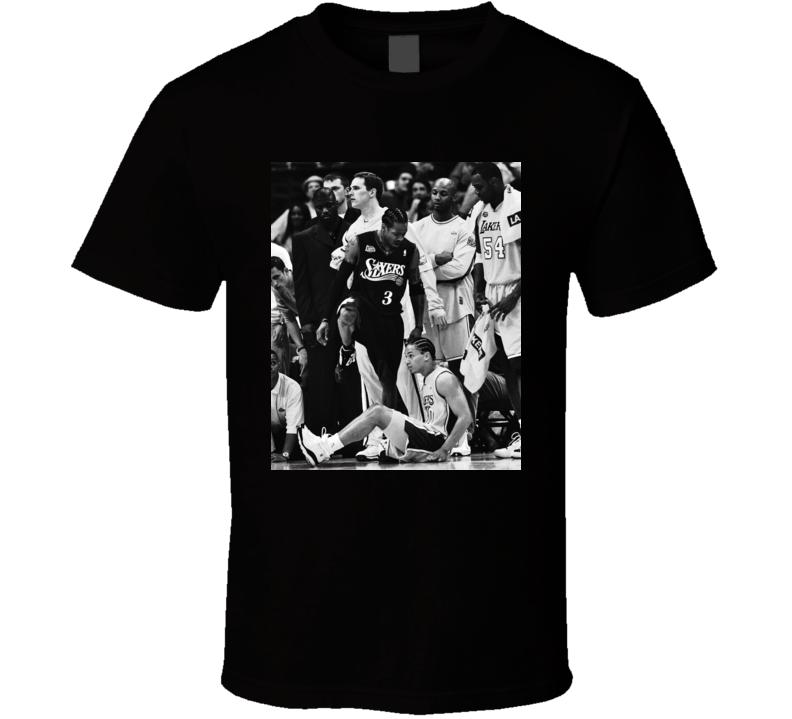 Allen Iverson Steps Over Tyronn Lue T Shirt