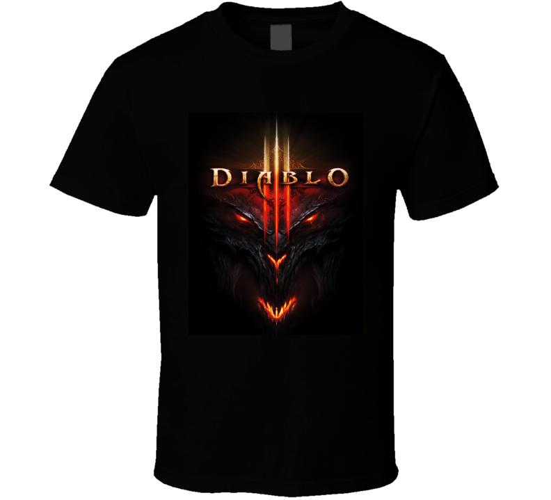 Diablo 3 Logo T Shirt