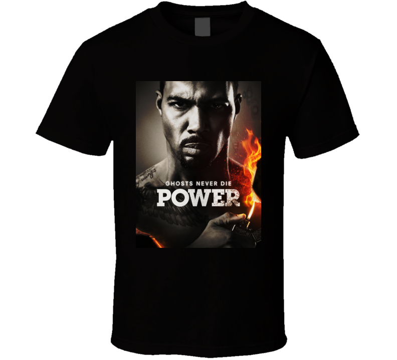 Starz Power James St Patrick Ghost Never Die T Shirt