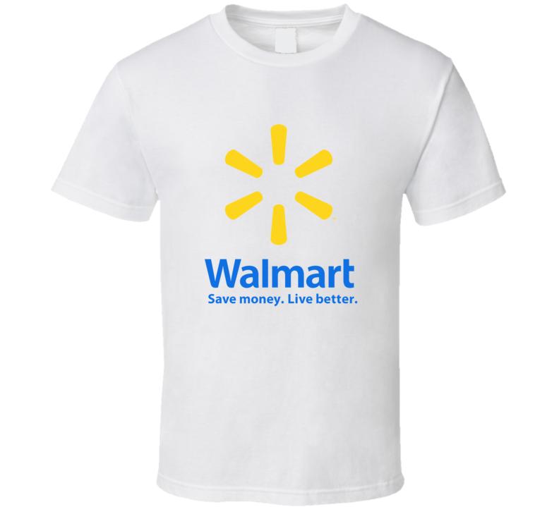 Walmart Logo T Shirt