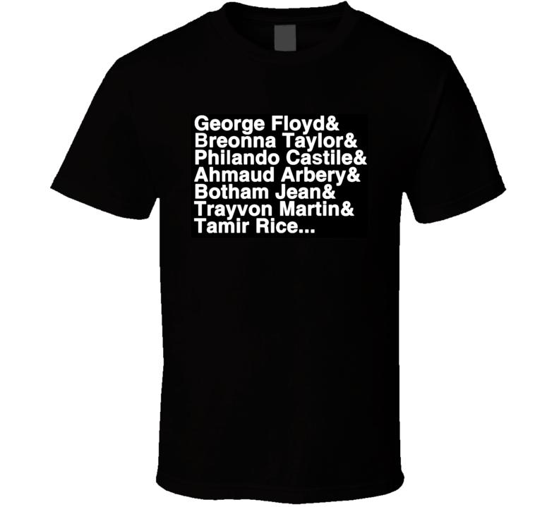 George Floyd Breonna Taylor Philando Castile T Shirt