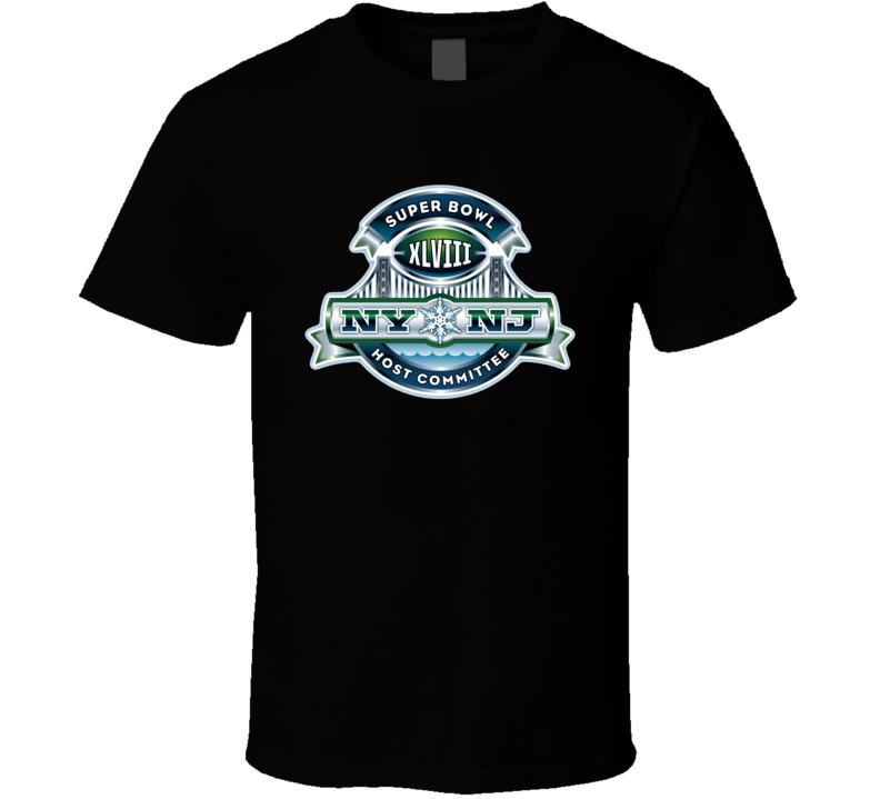 Super Bowl 2014 Logo  T Shirt