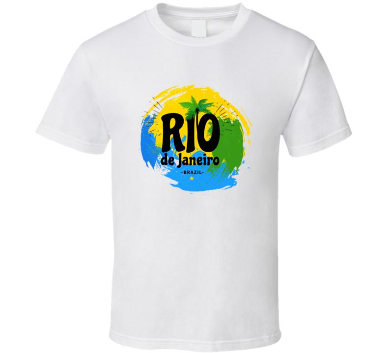 Rio De Janeiro Logo T Shirt