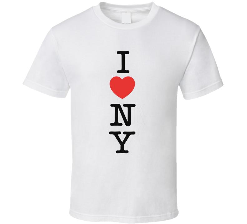 I Heart Ny  T Shirt
