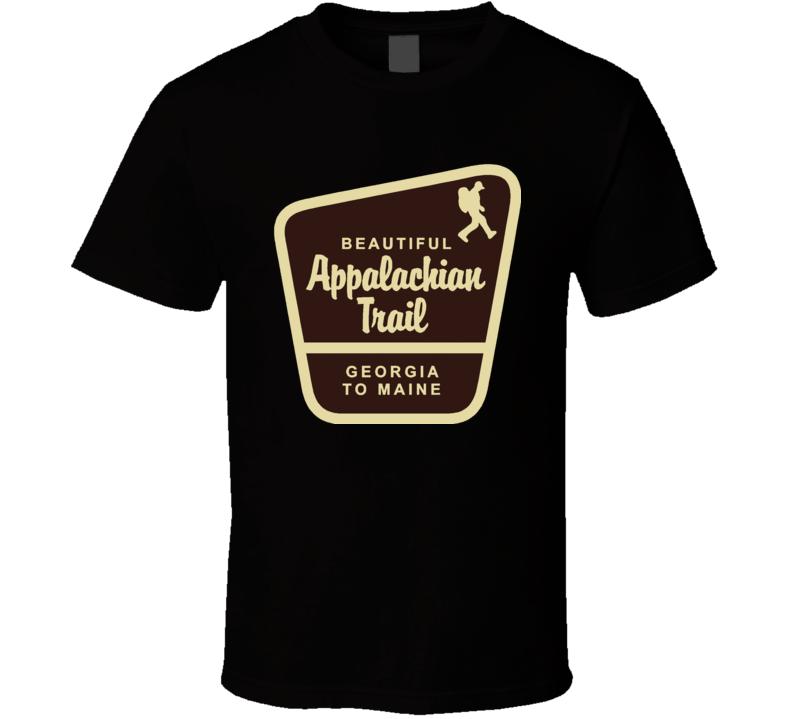 Appalachian Trail Georgia To Maine T Shirt