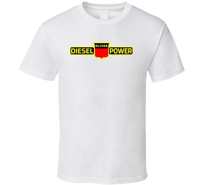 Oliver Tractor Decals T Shirt