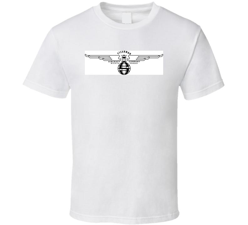 Vintage Stearman Airplane T Shirt