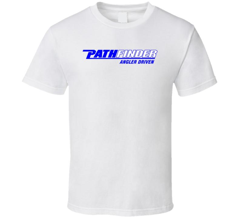 Pathfinder Angler Driven Logo T Shirt