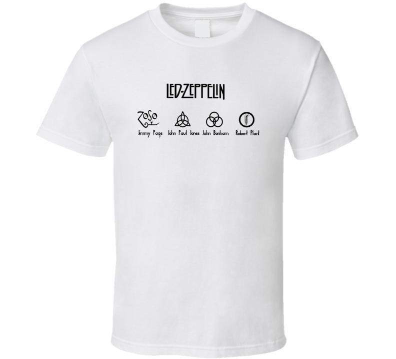 Led Z Icon T Shirt