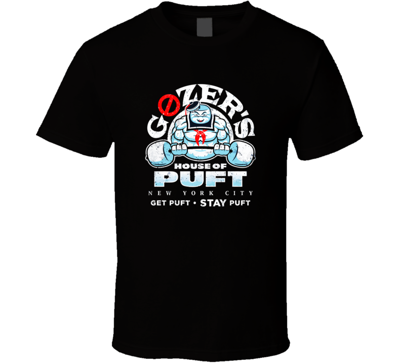 House Of Puft Ghost Ghostbusters T Shirt