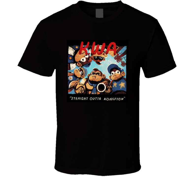 Straight Outta Donkey Kong Country T Shirt