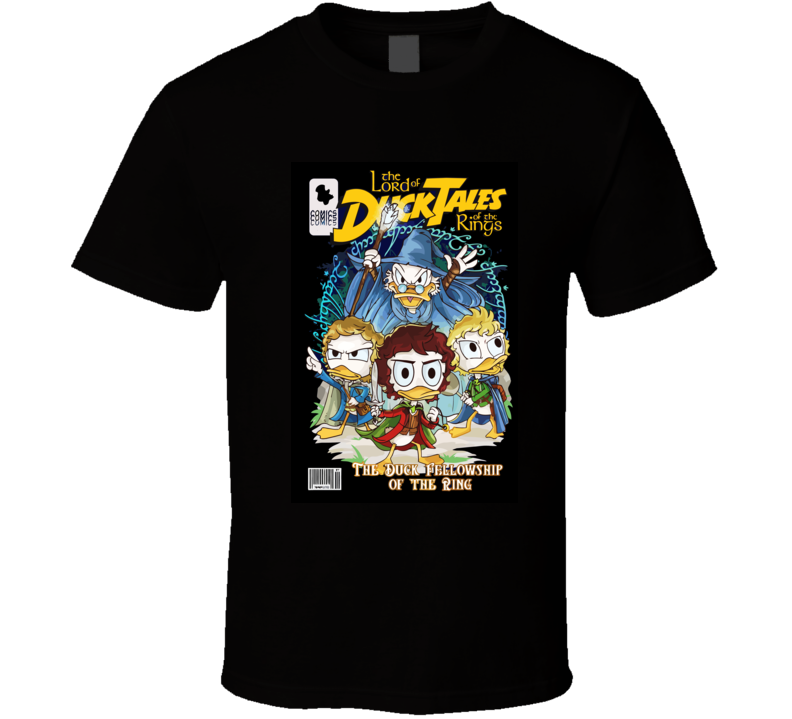 Duck Tales Lord Of The Ring T Shirt