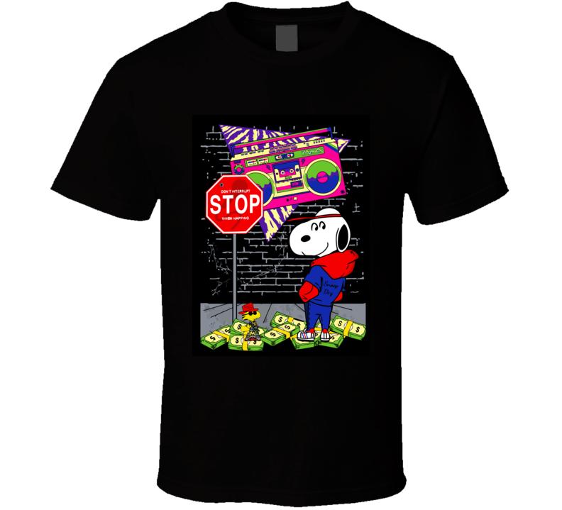 Snoopy Money T Shirt