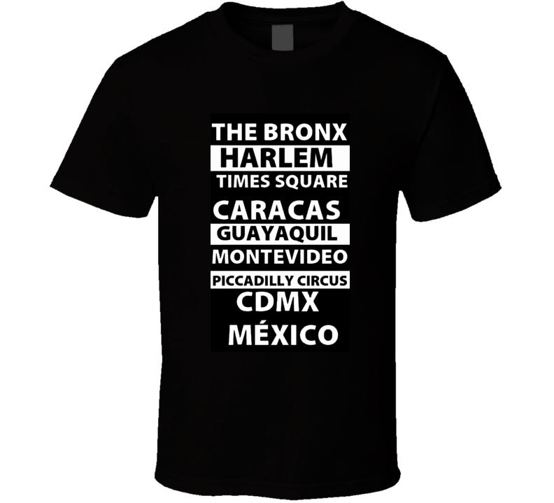 Bronx Time Square T Shirt