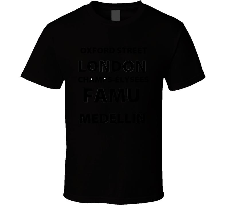 Oxford Street Famu Medellin T Shirt