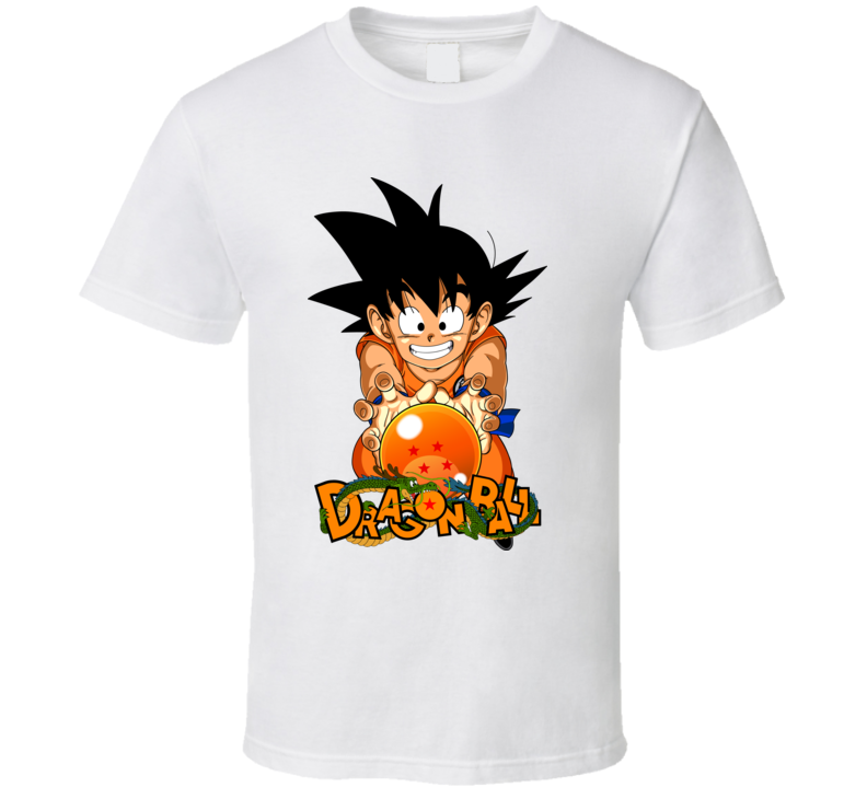 Dragon Ball White Shirt