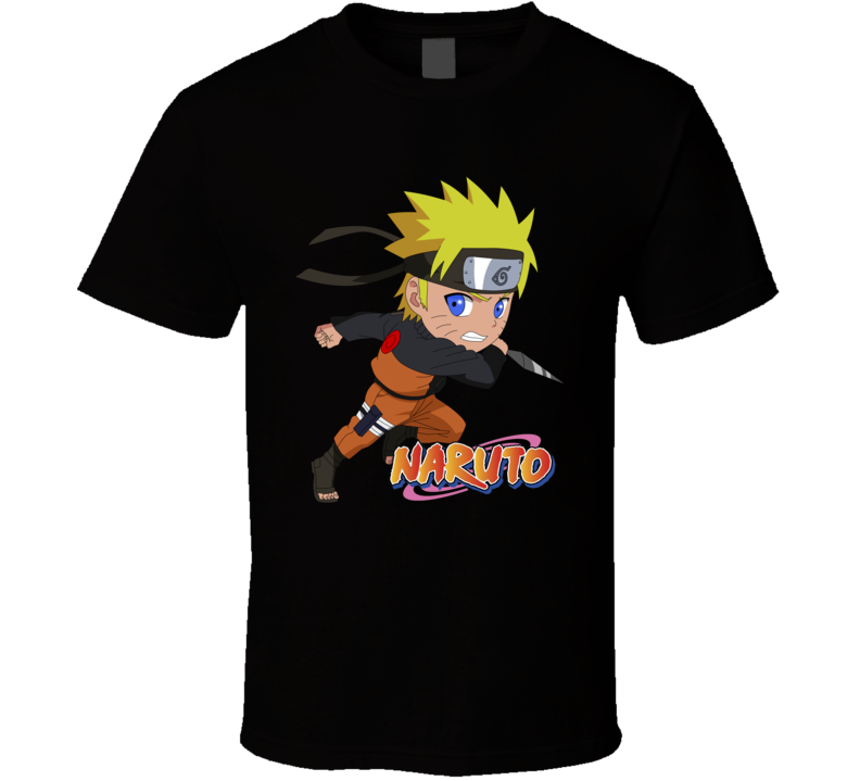 Naruto Design 5 T Shirt