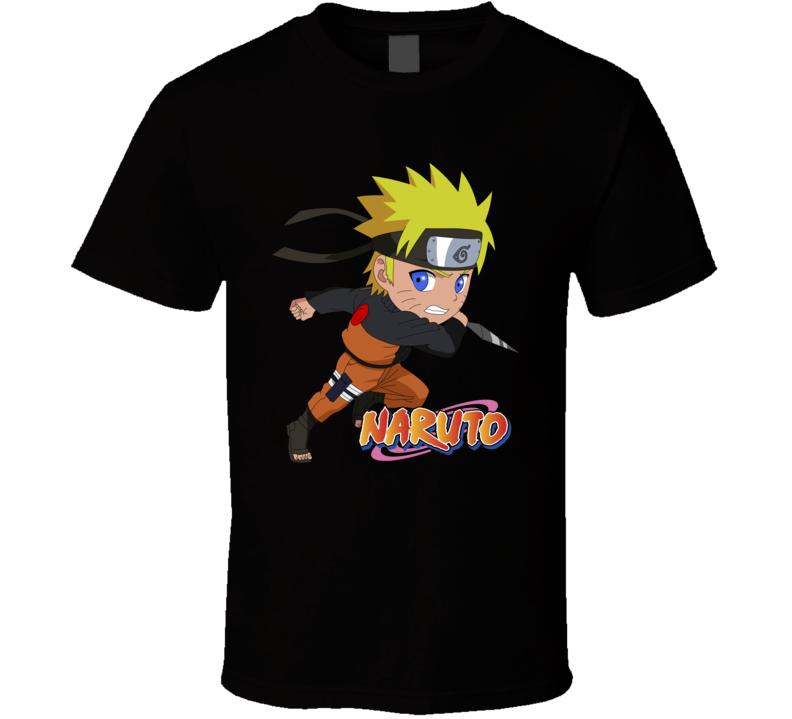 Naruto Design 5 T Shirt