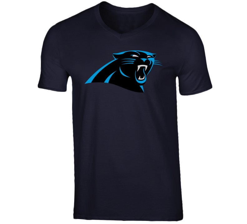 Carolina Panthers Navy T Shirt