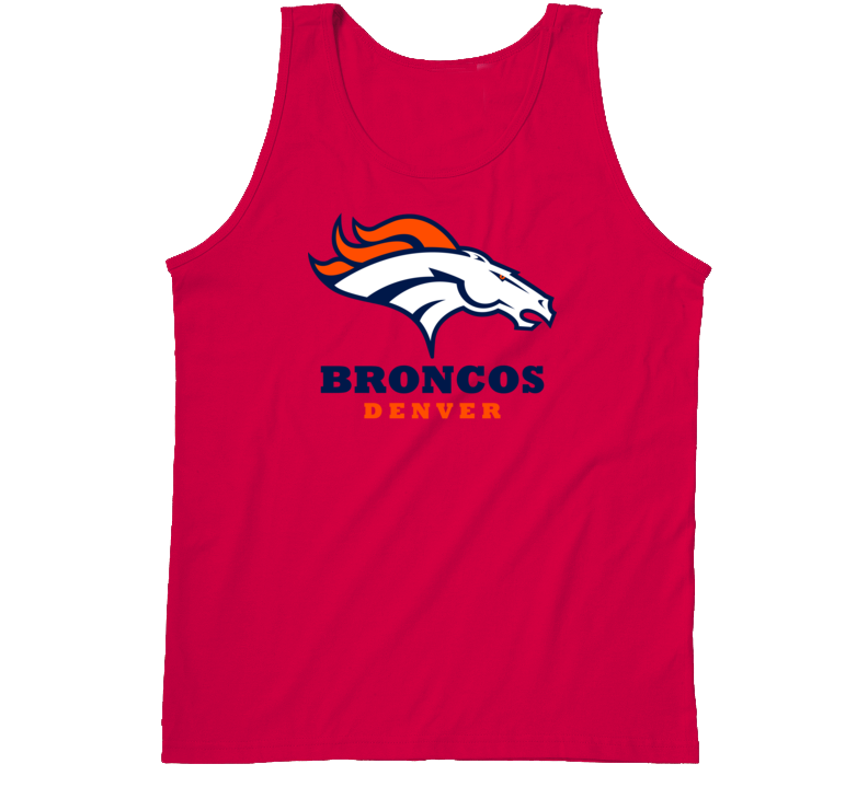 Denver Broncos Tanktop Red